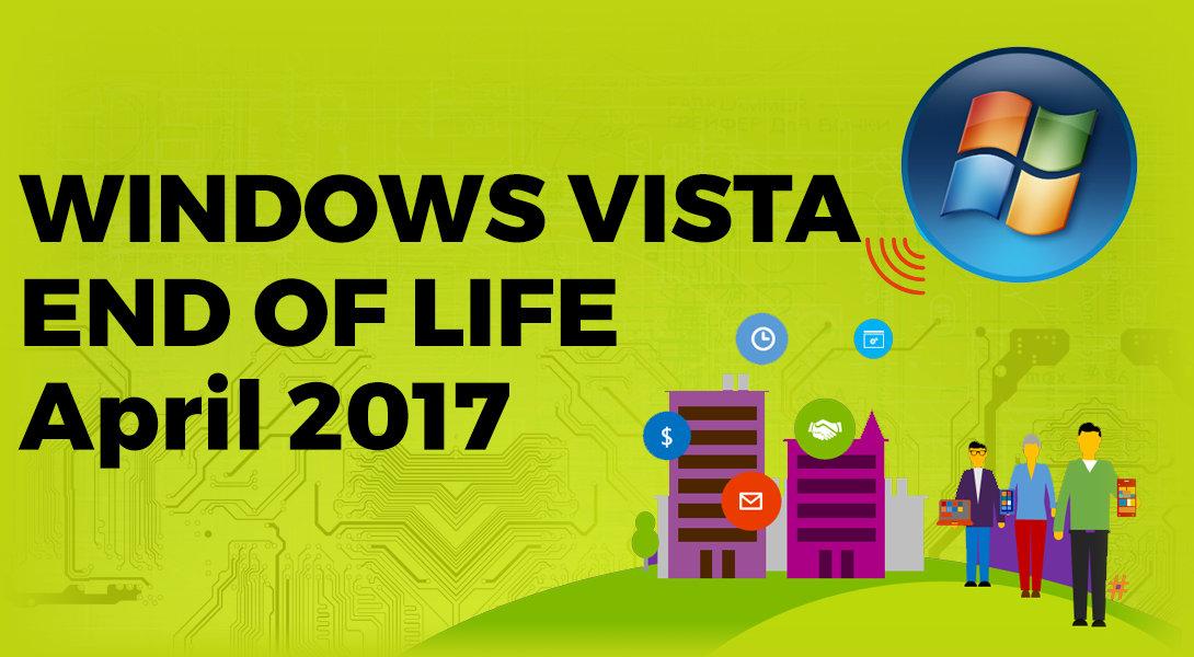 Microsoft stopt ondersteuning Vista